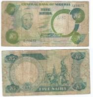 Nigeria 5 Naira 1979-1984 Pick 20.a Ref 343 - Nigeria