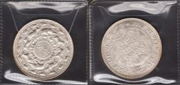 5 Rupie Silver 1957 - 2500 Anni Dalla Morte Del Budda - SPLENDIDA - Sri Lanka