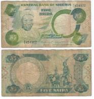 Nigeria 5 Naira 1979-1984 Pick 20.a Ref 344 - Nigeria