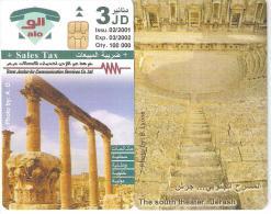Jordan-The South Theater...Jerash Dummy Card(no Code) - Giordania