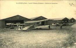 N°953 PPP 381  CAMP D AVORD CENTRE MILITAIRE D AVIATION ATELIERS DE REPARATIONS - Avord