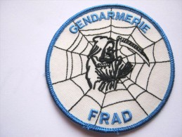 INSIGNE TISSUS PATCH GENDARMERIE NATIONALE FRAD MODELE 1 ETAT EXCELLENT - Police & Gendarmerie