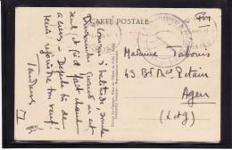 Cachet De La Garde Du Bataillon D'Honneur Du Maréchal  - VICHY (2 Scans) (Lot LF 34) - Postmark Collection (Covers)
