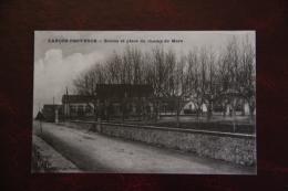 Lançon De Provence - Ecoles Et Place Du Champ De Mars - France