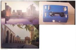 3 DIFFERENT Phone Cards Cartes Karten From UZBEKISTAN Usbekistan Ouzbékistan. Mosque, Telephone, - Uzbekistan