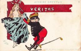 HUMOR-CARICATURE-AFFAIRE DREYFUS-serie N°2-VG 1901-2 SCAN - Humor