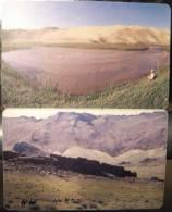 2 Nice Landscape Chip Cards Cartes Karten From MONGOLIA Mongolie Mongolei, Paysage Landschaft Mountains Montagnes Berge - Mongolia