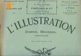 """Lillustration Du 08/12/1928 Pétain Verdun """" Vestris """" Arezzo Gobi Etna Pasteur Brest Pétrarque Madrid - L'Illustration"""
