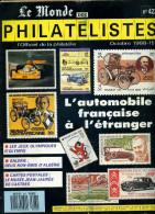 Le Monde Des Philatelistes N.423 10/1988,Strasbourg,timbre Factice,vignette Essai,olympiades,automobile,vignette Automob - Magazines