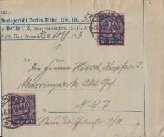 DR Dienst Ortsbrief Mef Minr.2x D72 Berlin 26.6.23 - Dienstpost