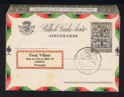 IRON Ferro Eisenmineral Minerals Minéraux Estado India Aérogramme église MARGÃO Salsete Church Postal Stationery #9626 - Minéraux