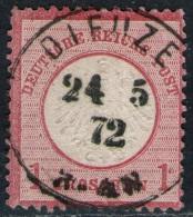Dieuze 24.5.72 Auf 1 Groschen Karmin - DR Nr. 19 - Kabinett - Deutschland
