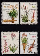 BOTSWANA, 1975, Cancelled Stamps , Christmas , 143-146 , #705 - Botswana (1966-...)