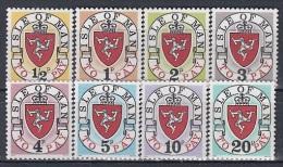 ISLE OF MAN 1-8 Porto,unused - Isla De Man