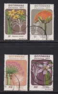 BOTSWANA, 1977, Cancelled Stamps ,Christmas, 193-197 , #760 - Botswana (1966-...)