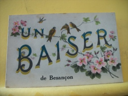 25 81  - UN BAISER DE BESANCON - HIRONDELLES FLEURS - Besancon