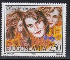 Yugoslava,World Women's Day 1998.,MNH - 1992-2003 Federal Republic Of Yugoslavia