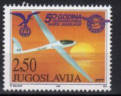 Yugoslavia,50 Years Of Yugoslav Aeronautical Association 1998.,MNH - 1992-2003 République Fédérale De Yougoslavie