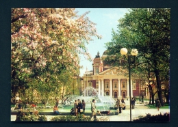 BULGARIA  -  Sofia  National Theatre  Unused Postcard - Bulgaria