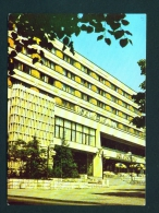 BULGARIA  -  Stara Sagora  Hotel Wereja  Unused Postcard - Bulgaria