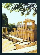 BULGARIA  -  Plovdiv  Roman Theatre  Unused Postcard - Bulgaria