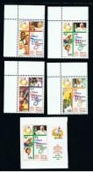2000 - VATICANO - S17 - SET OF 5 STAMPS ** - Unused Stamps
