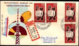 Germany Berlin 1961 / German Phono And Radio Exhibition / Registered Letter Einschreibebrief Berlin - Charlottenburg 2 - Telecom