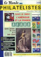 Le Monde Des Philatelistes N.414 12/1987,carnet Monde,essai Carnet Distributeur,carnet PubCP Femme,Cameroun Surcharge Ex - Magazines