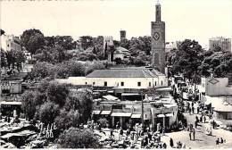 MAROC Morroco - TANGER : La Place Du Grand Socco - CPSM Dentelée Noir Et Blanc Format CPA 1959 - - Tanger