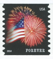 U.S.A. Scott #4853. CCL PRINTING PERF 8½. STAR-SPANGLED BANNER FOREVER. POSTFRIS, NEUF, MNH-VF (**) - Nuovi