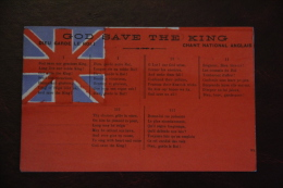 GOD SAVE THE KING - England