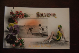 Souvenir De VALRAS PLAGE - Baigneuse. - France