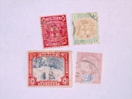 JAMAIQUE / JAMAICA    1889-1904  LOT# 1 - Jamaique (1962-...)