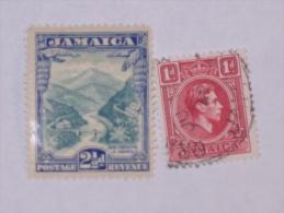 JAMAIQUE / JAMAICA    1937-51  LOT# 2 - Jamaique (1962-...)