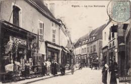 Digoin - La Rue Nationale - Digoin