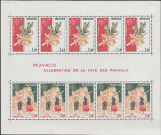 """MONACO Block 17(5x1473-4) """"EUROPA:Folklore"""" MNH / ** / Postfrisch - Blocks & Kleinbögen"""