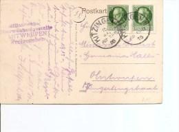 Bavière ( Carte Postale De 1916 De Kitzingen  Vers La Belgique à Voir) - Bavière
