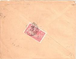 3426 POINTE à PITRE  Guadeloupe Lettre Yv 59    10 C Rose - Lettres & Documents