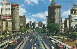 SAO PAULO - Vista Parcial Do Vale Do Anhangabau - São Paulo