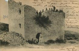 """30 BAGNOLS SUR CEZE    Tour Du Nord Du Chateau De  """"CHICEN"""" JAMAIS VUE - Bagnols-sur-Cèze"""