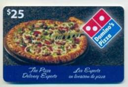 Domino´s Pizza Canada  Gift Card For Collection, Without Value # 1 - Gift Cards