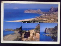 Crete - Falassarna - Formato Grande Viaggiata - Grecia