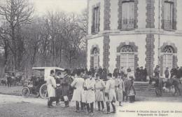 Ph-CPA Forêt De Dreux (Eure Et Loir) Une Chasse à Courre Préparatifs De Départ, Reproduction - Unclassified