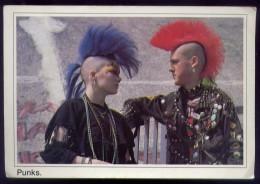 Punks - Trqacey Watson Matt Belgrano - 16 - Formato Grande Viaggiata - Cartes Postales
