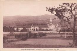 Cp , 81 , DOURGNE , Abbaye De Sainte-Scholastique , Façade Sud-Est - Dourgne