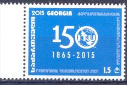 2015. Georgia, 150years Of ITU, 1v, Mint/** - Georgia