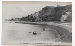 HOULGATE - N°  30 - L' EMBOUCHURE DE LA DIVE AVEC PERSONNAGES SUR BARQUE - CPA NON VOYAGEE - Houlgate