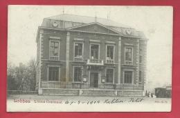 Lobbes - L'Hôtel Communal -1902  ( Voir Verso ) - Lobbes