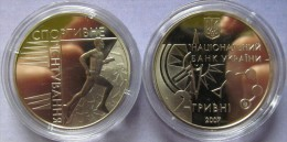 "Ukraine - 2 Grivna Coin 2007  ""Orienteering"" UNC - Ucraina"