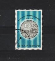 1987  - Monnaies Roumaines Courantes Mi No 4339 Et Yv 3743 - Usado